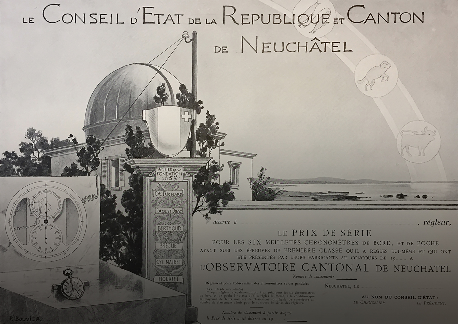 Space and Time. Stories from the Neuchâtel Observatory